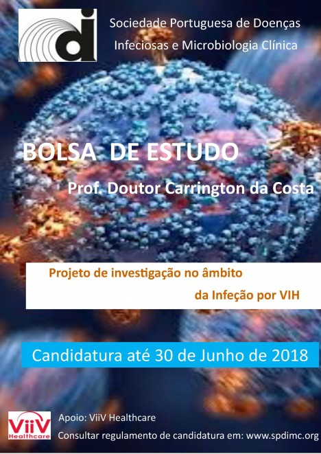 Cartaz Bolsa Prof. Carrington Costa 2018