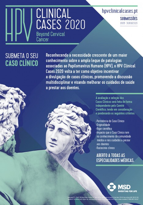 HPV Clinical Cases 2020 - Poster de divulgacao